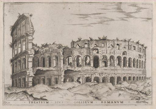 Speculum Romanae Magnificentiae: The Colosseum (16th century). Accession number: 41.72(1.59).