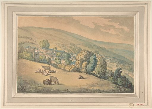Downlands, Sussex (1780–1827). Accession number: 23.219.2.
