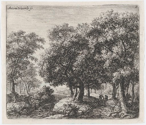 The Forest Lane (Les Deux Cavaliers) (17th century). Accession number: 2002.482.6.