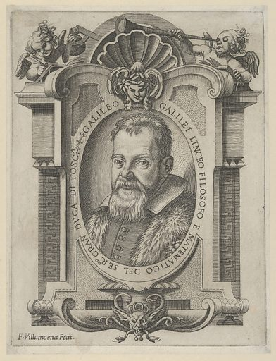Portrait of Galileo Galilei (1613). Accession number: 2002.451.