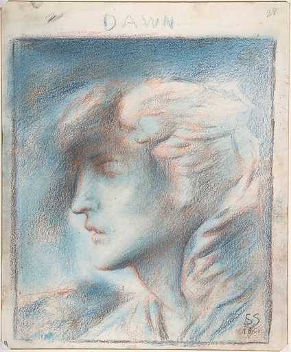 Dawn (Head of Hypnos) (after 1870). Accession number: 07.283.7.