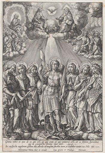 St. Michael and Archangels (The Seven Archangels) (1570–1619). Accession number: 51.501.6402.