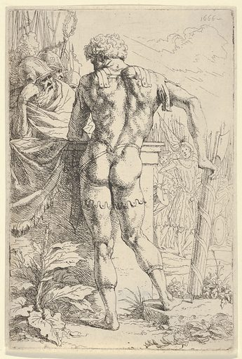 A Roman Warrior with Fasces (1666). Accession number: 2003.226.