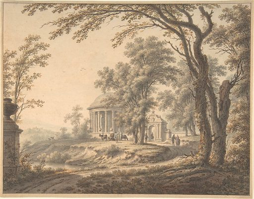 Idyllic Landscape with Temple (1770). Accession number: 2003.171.