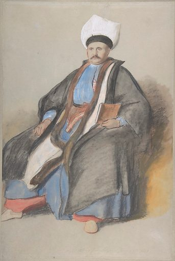 Portrait of Abram Jacob Messir (1841). Accession number: 2003.104.