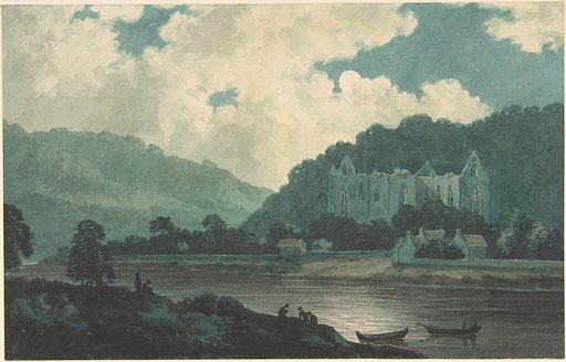 Tintern Abbey by Moonlight (ca. 1789). Accession number: 2003.118.