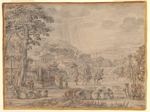 Landscape with Wine Harvest (ca. 1630). Accession number: 2003.101.