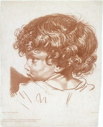 Study, Head of a Boy (ca. 1777). Accession number: 1983.1123.13.