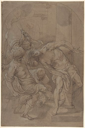 The Flagellation of Christ (1632). Accession number: 2003.183.