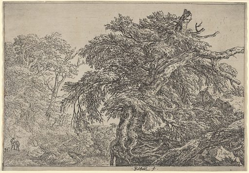 The Great Beech (Two Farmers with their Dog) (ca. 1652). Accession number: 26.72.10.