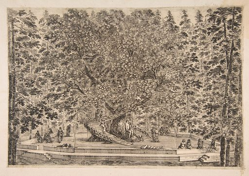 The Tree House at Pratolino (ca. 1653). Accession number: 67.689.9.