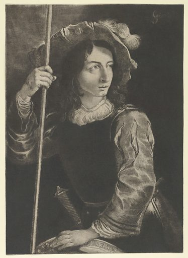 The Great Lansquenet or Standard Bearer (1658). Accession number: 33.52.32.