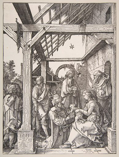 The Adoration of the Magi (1511). Accession number: 19.73.163.