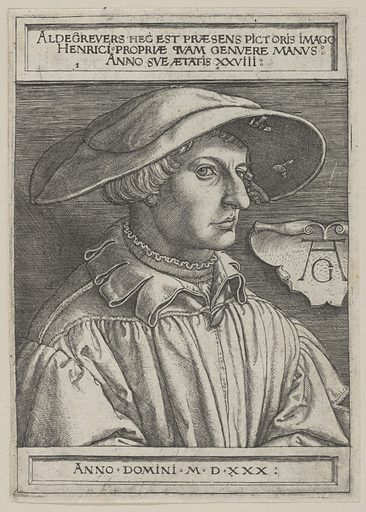 Self-Portrait at Age Twenty-Eight (1530). Accession number: 30.53.8.