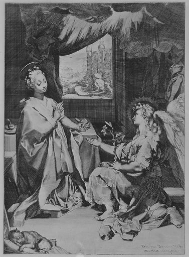 The Annunciation (ca. 1585). Accession number: 23.25.2.