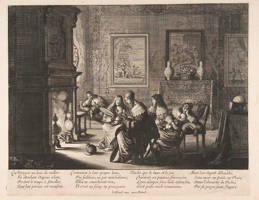 Foolish Virgins Sleeping (ca. 1635). Accession number: 26.49.12.
