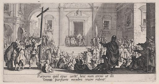 La Présentation au Peuple (The Presentation of Christ to the People), from La Grande Passion (The Large Passion) (ca. 1619–24). Accession number: 57.650.382(4).