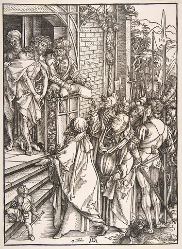 Ecce Homo, from the series The Large Passion (ca. 1498–99). Accession number: 19.70.4.