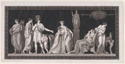 The Constancy of Coriolanus (ca. 1778). Accession number: 63.623.1.