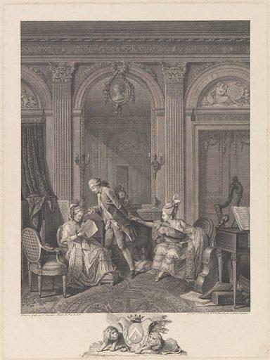 Le Billet doux (1778). Accession number: 54.533.19.