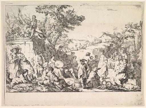 The Village Festival (Fête de village dans la campagne romaine) (ca. 1735–40). Accession number: 49.50.249.