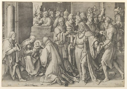 Adoration of the Magi (1513). Accession number: 35.56.