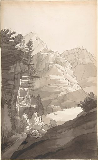 Near Glaris [Glarus], Switzerland (September 2, 1781). Accession number: 68.93.