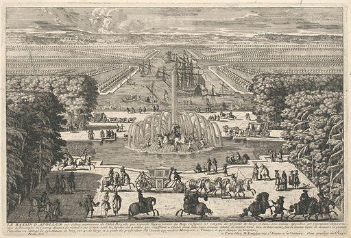 Le Bassin d'Apollon [The Fountain of Apollo, Versailles] (1680s). Accession number: 52.519.84(88).