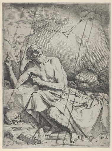 Saint Jerome Hearing the Trumpet of the Last Judgment (1621). Accession number: 53.512.5.