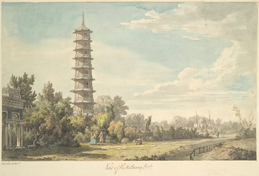 View of the Wilderness at Kew (1763). Accession number: 25.19.43.