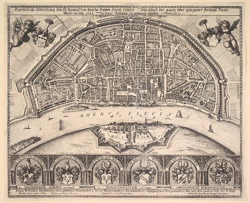 Cologne and Deutz (1635). Accession number: 18.11.