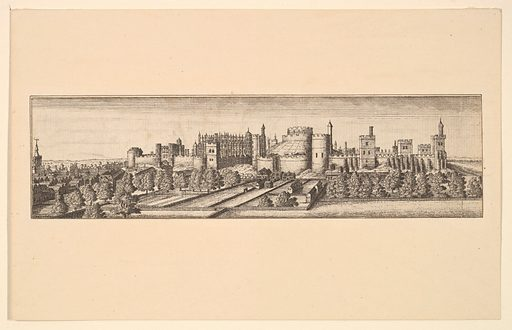 Berkshire, with Windsor Castle (after 1666). Accession number: 17.3.1166-209.