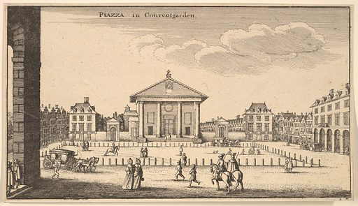 Piazza in Covent Garden (ca. 1647). Accession number: 17.3.1166-383.
