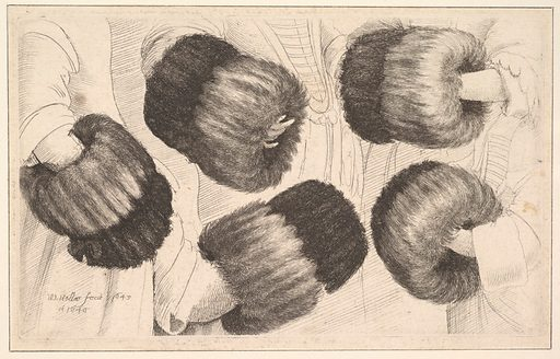 A Muff in Five Views (1645–46). Accession number: 17.3.1477.