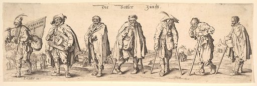 Die Bettler Zunfft (The Seven Beggars) (1630). Accession number: 17.50.15-344.