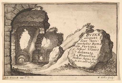 Title: Roman Ruins (ca. 1650). Accession number: 17.50.17-377.