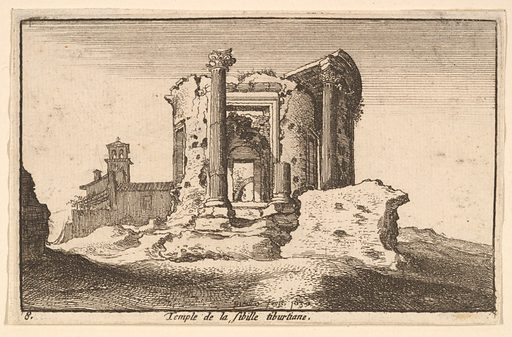 Temple of the Tiburtine Sybil (1650). Accession number: 17.50.17-395.