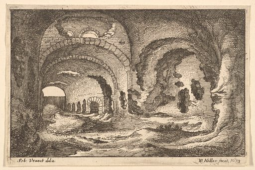 Roman remains at Tivoli (1673). Accession number: 17.50.17-396.