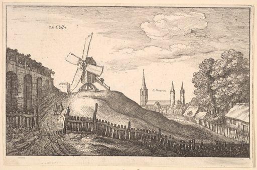 zü Cölln (Cologne) (1643). Accession number: 17.50.17-407.