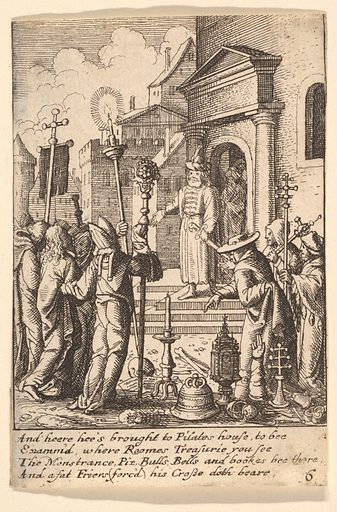 Jesus before Pilate (1625–77). Accession number: 17.50.18-226.