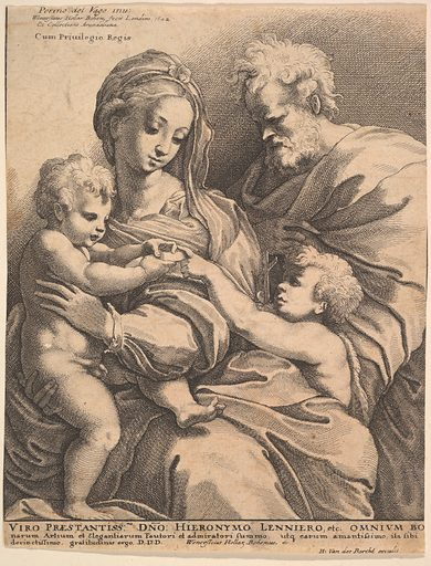 The holy family (1642). Accession number: 17.50.18-135.