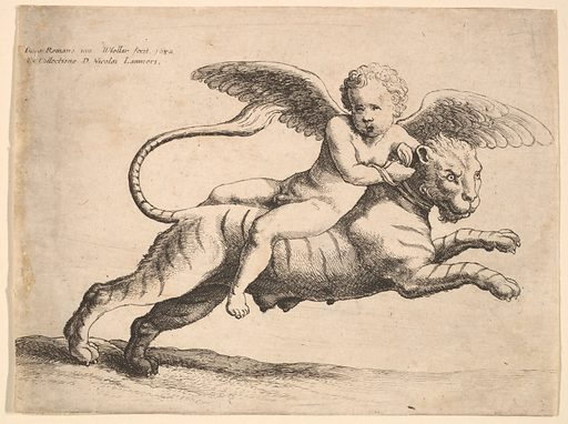 Cupid on a tiger (1652). Accession number: 17.50.18-115.