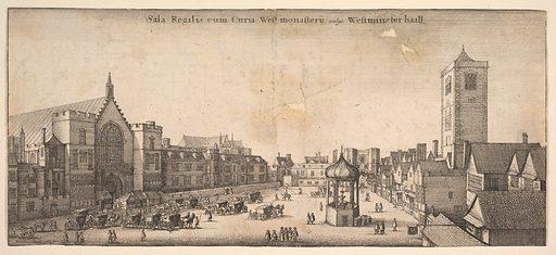 Sala Regalis cum Curia West-monasterÿ, vulgo Westminster haal (Westminster Hall) (1647). Accession number: 17.50.19-173.