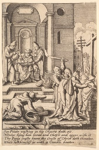 The washing of hands (1625–77). Accession number: 17.50.18-231.
