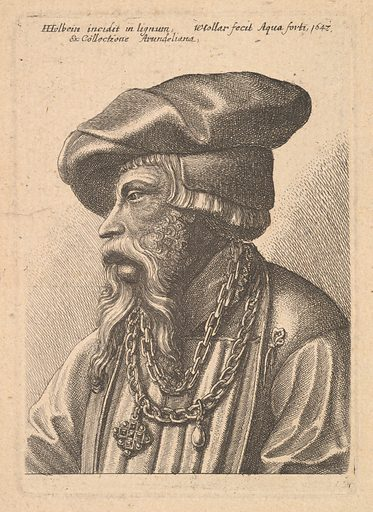 Bearded man with chain necklace (1647). Accession number: 18.17.2-265.