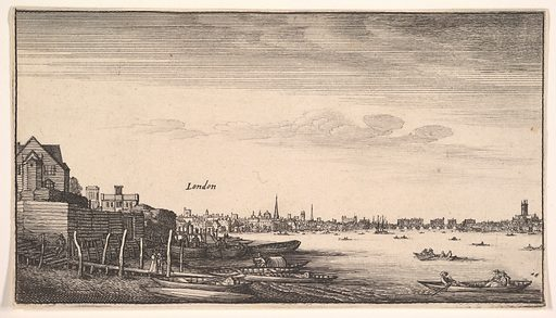 London Viewed from the Milford Stairs (1643–1644). Accession number: 18.90.5.
