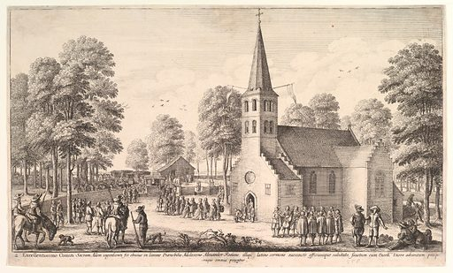Going to Church (1651). Accession number: 20.81.2.176.