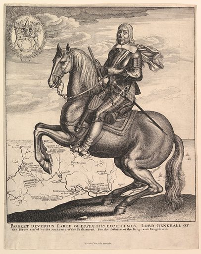 Earl of Essex on Horseback (1643). Accession number: 24.36.8.