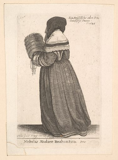 Nobilis Mulier Brabantica, (Noblewoman from Brabant) (1648). Accession number: 24.57.17.