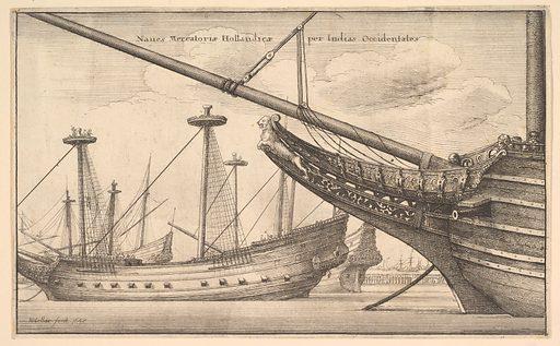 Naues Mercatoriæ Hollandicæ per Indias Occidentales (Dutch West Indiaman) (1647). Accession number: 25.83.2.